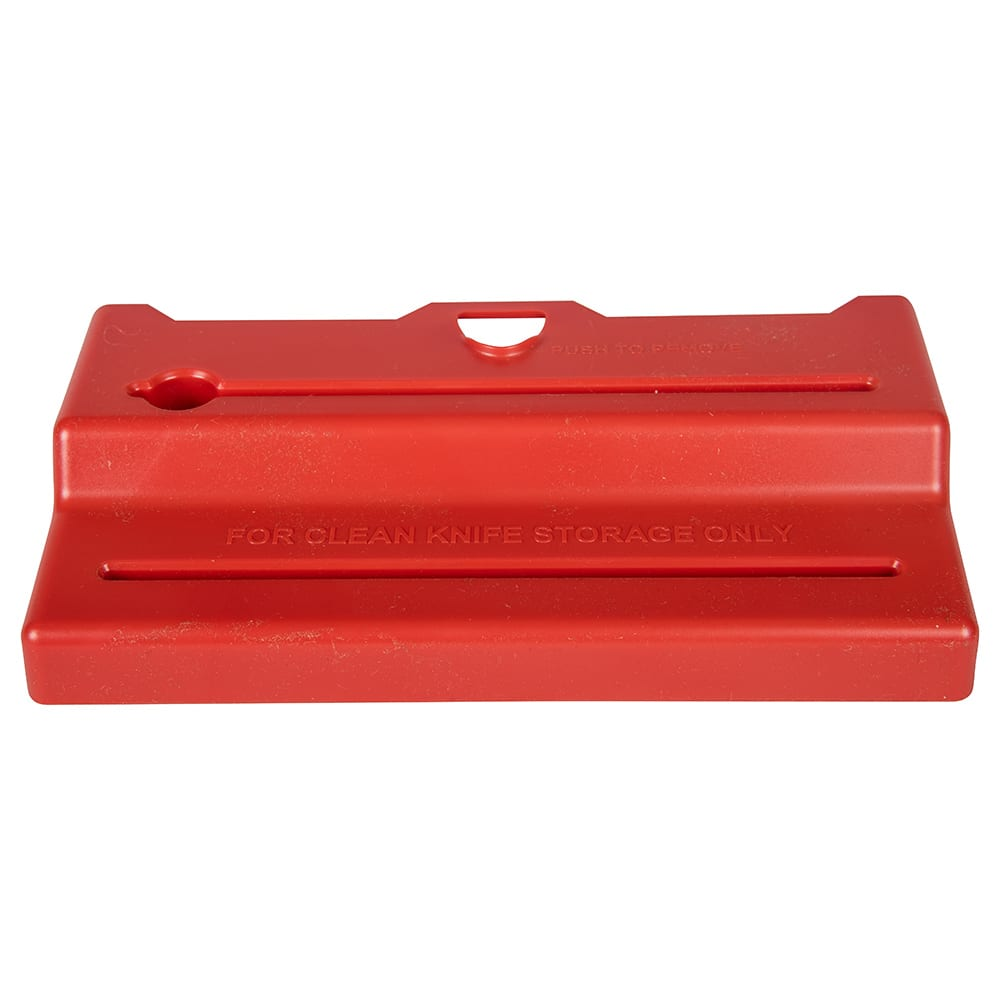 San Jamar STK1006RDL Lid for Saf-T-Knife Junior, Red