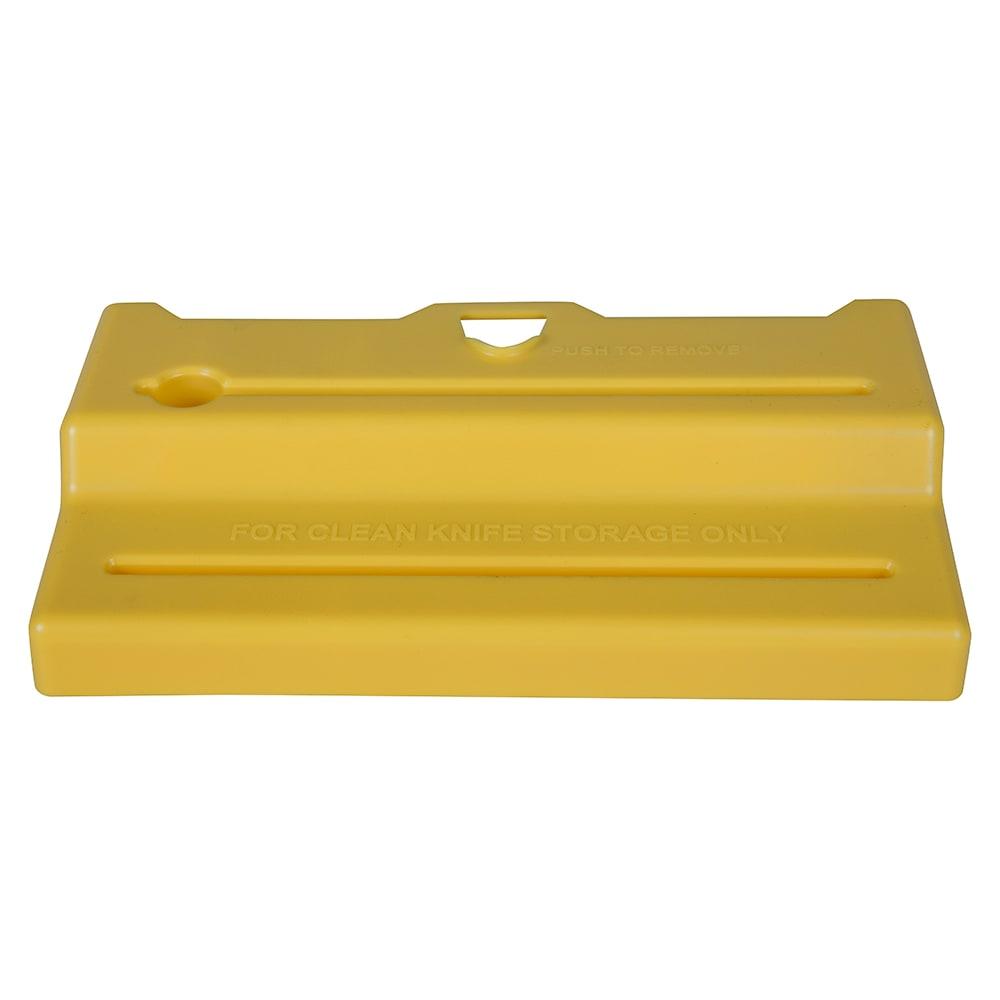 San Jamar STK1006YLL Lid for Saf-T-Knife Junior, Yellow