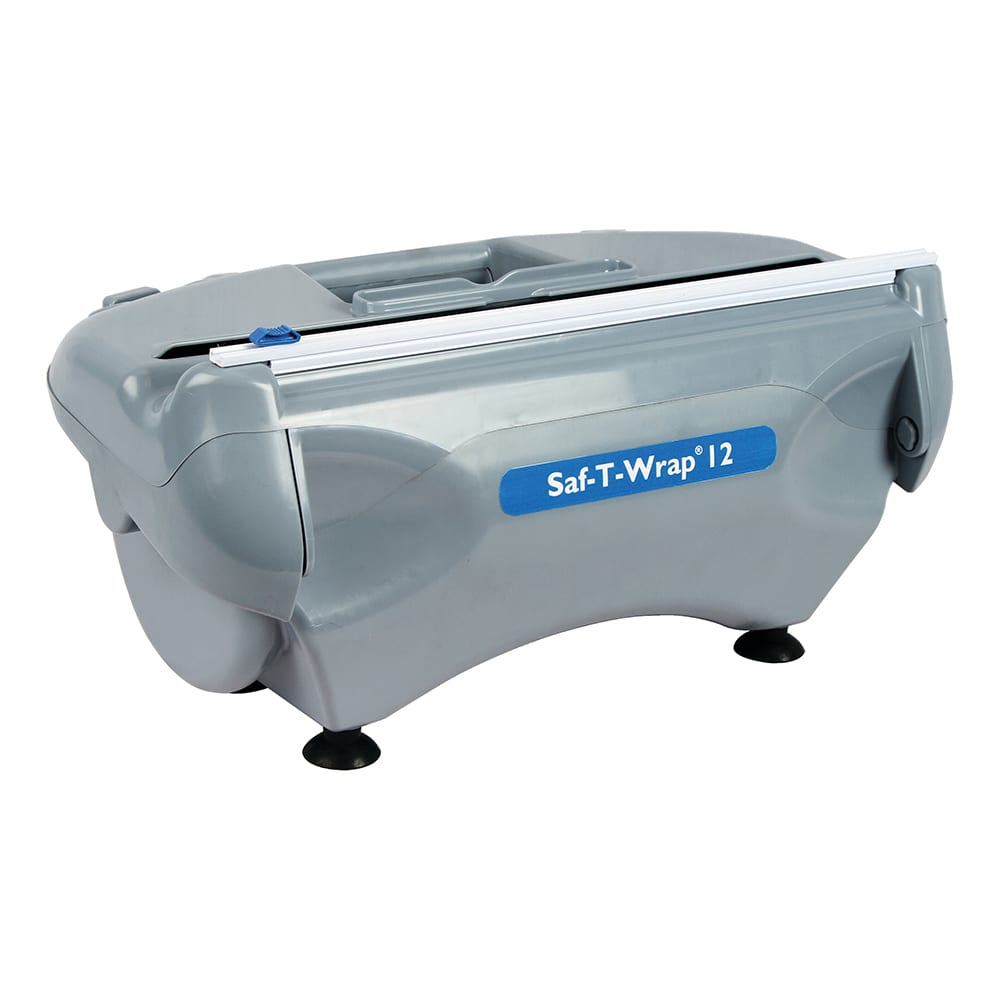 "San Jamar SW12 12"" Station Dispenser with Slide Cutter & Safety Blade"