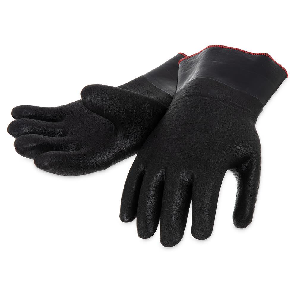 "San Jamar T1212 Neoprene Glove, 12"", Fully Insulated, Pair"