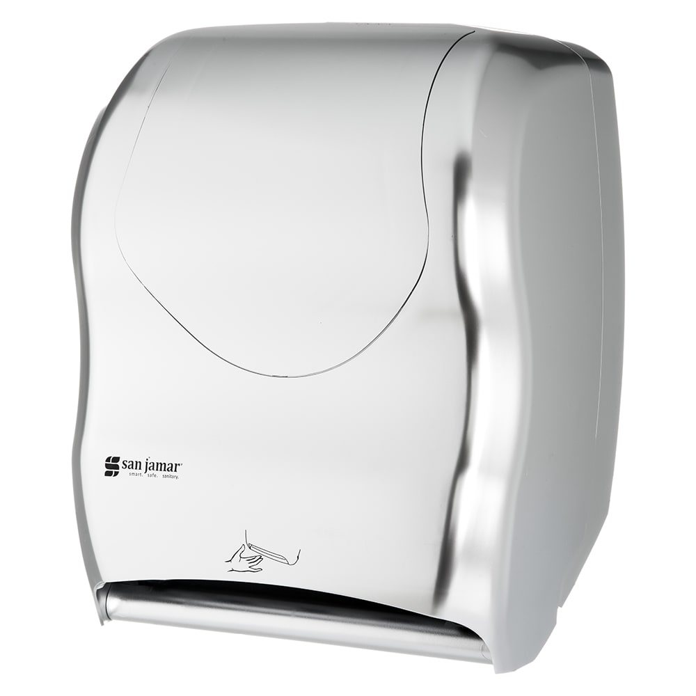 San Jamar T1470SS Wall-Mount Paper Towel Dispenser IQ Sensor™- Touchless, Stainless
