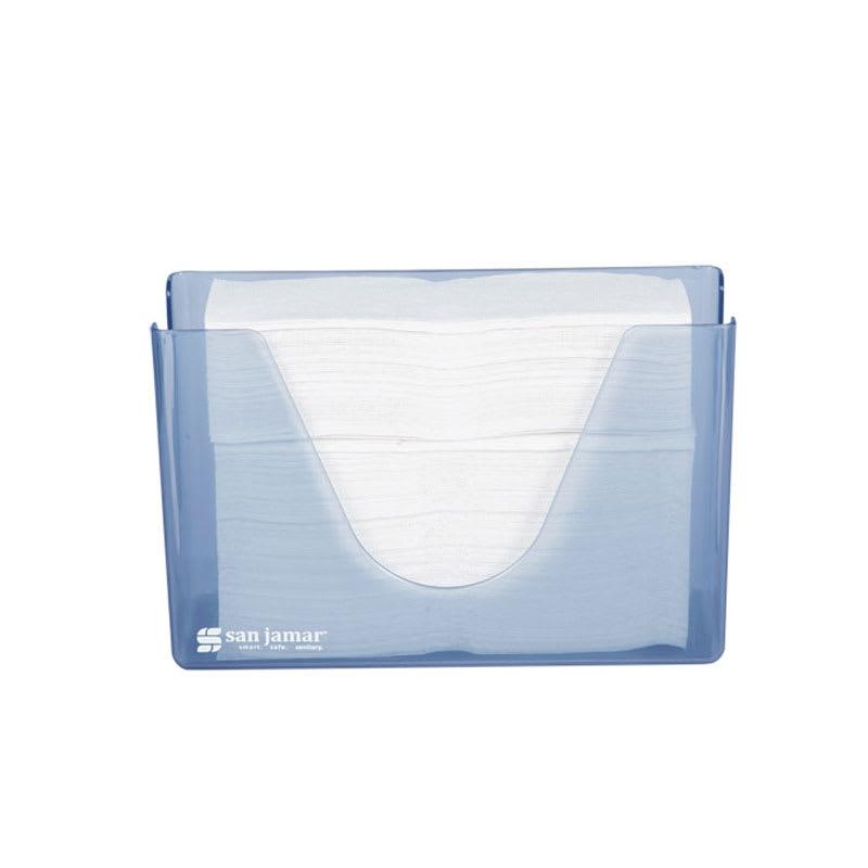 San Jamar T1720TBL Countertop Towel Dispenser - Compact, Arctic Blue