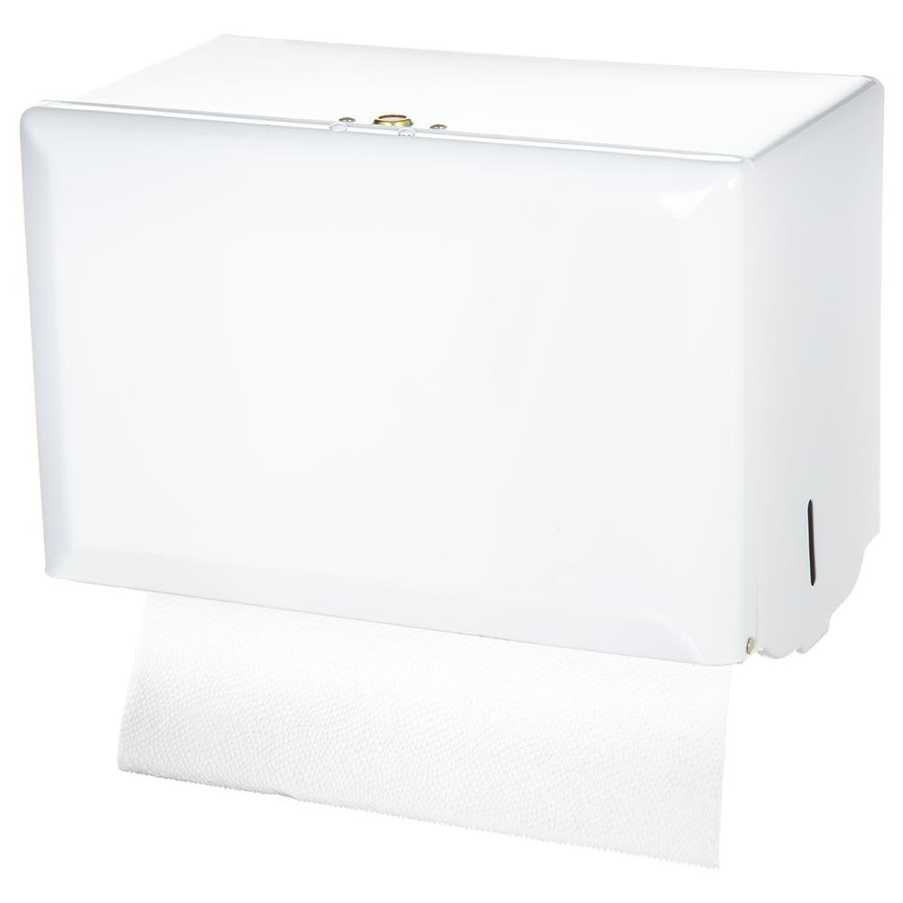 San Jamar T1800WH Classic Wall Towel Dispenser - Singlefold, White