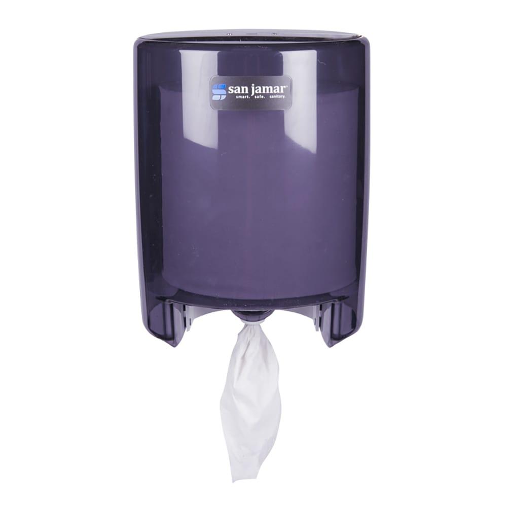 San Jamar T400TBK Classic Wall Towel Dispenser - Centerpull, Black Pearl