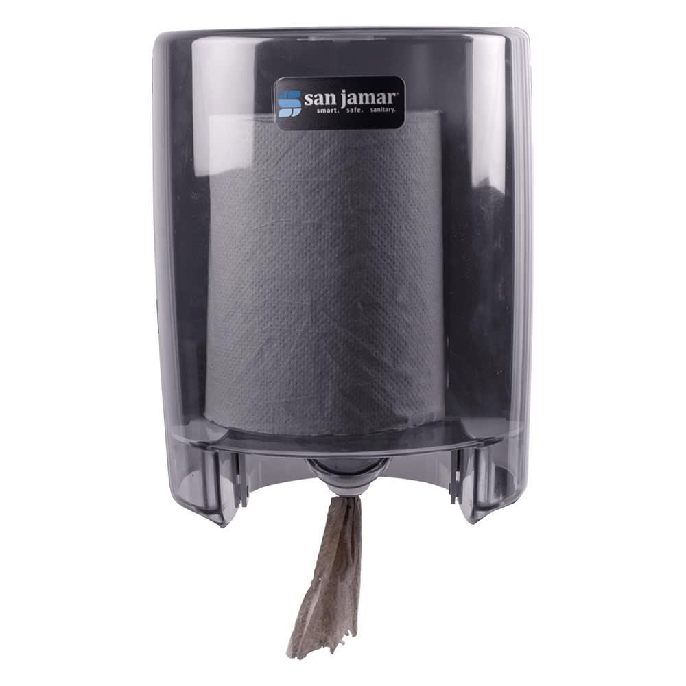 San Jamar T400TBL Classic Wall Towel Dispenser - Centerpull, Arctic Blue