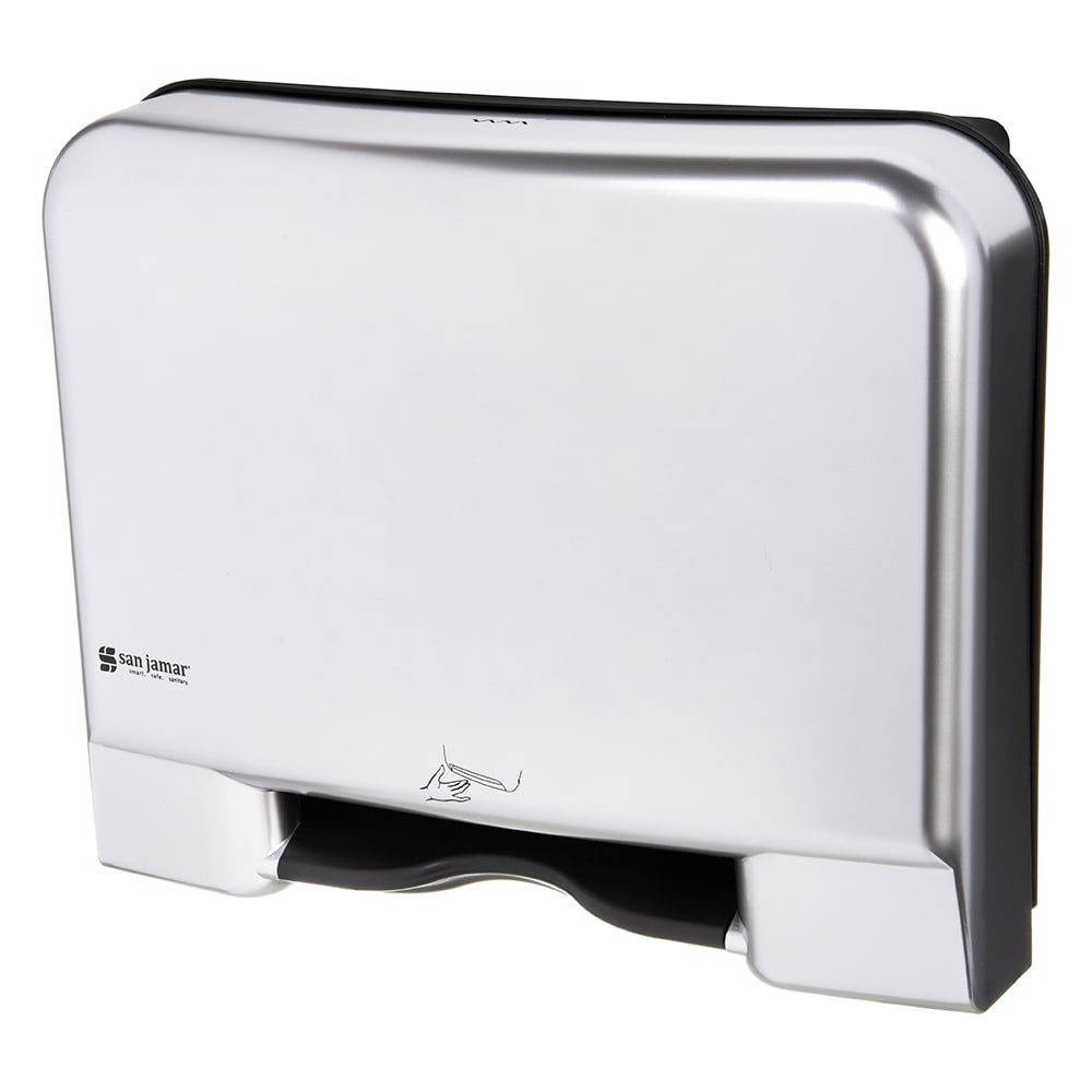 San Jamar T8406SSADA Recessed Smart System Paper Towel Dispenser - Touchless, Stainless