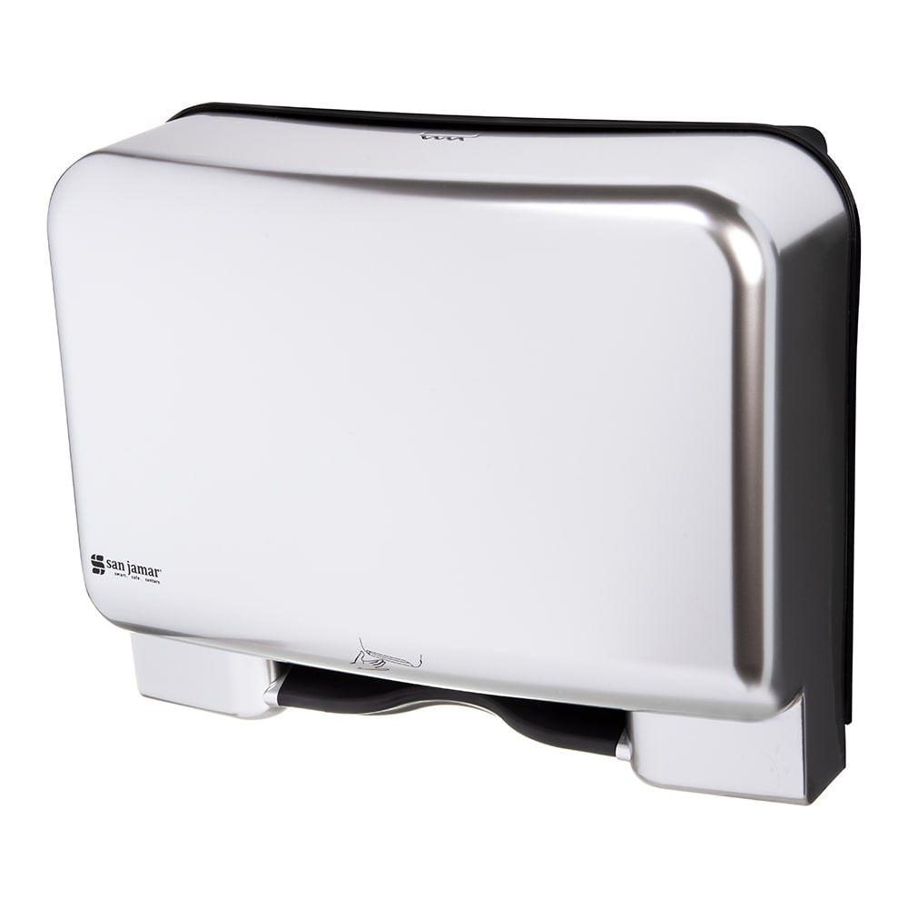 San Jamar T8408SSUNV Recessed Smart System Paper Towel Dispenser - Touchless, Stainless