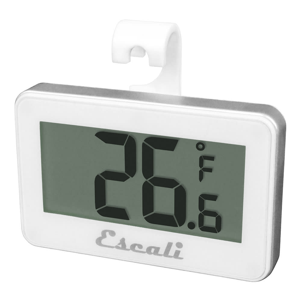 "San Jamar THDGRF Escali 2.63"" Digital Thermometer w/ -4° to 122°F Temperature Range"