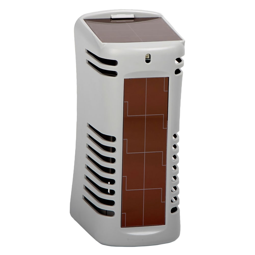 San Jamar WS107801207 Twist Solaire Air Care System, Harvests Light Energy, Grey