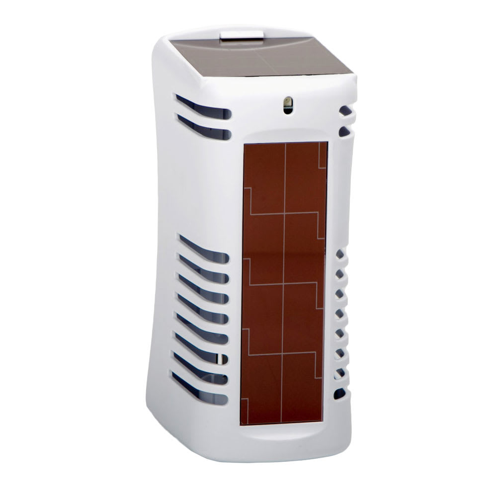 San Jamar WS107801208 Arriba™ Twist Solaire™ Dispenser for Odor Control, White