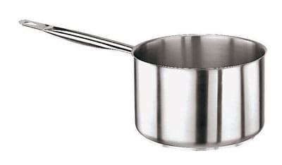 World Cuisine 11006-28 10.38-qt Stainless Steel Saucepan w/ Hollow Metal Handle