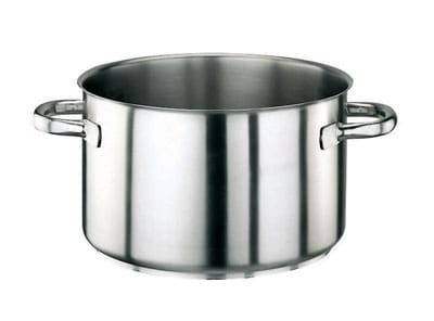 "World Cuisine 11007-28 10.25 qt Stainless Sauce Pot - 11"" x 6.25"""