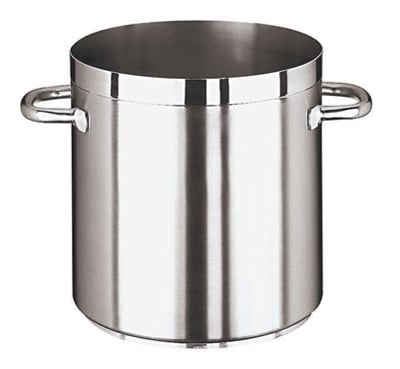 World Cuisine 11101-45 74-qt Stainless Steel Stock Pot - Induction Ready