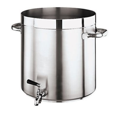World Cuisine 11102-28 17.5-qt Stainless Steel Stock Pot