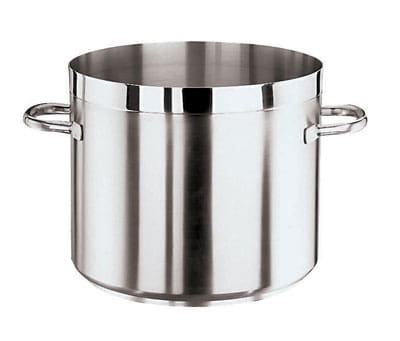 World Cuisine 11105-24 9 qt Stainless Steel Stock Pot