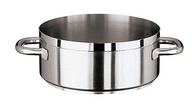 World Cuisine 11109-32 10.5 qt Stainless Steel Braising Pot
