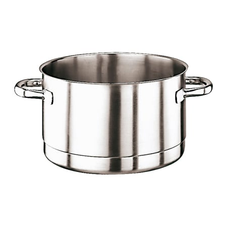 """World Cuisine 11119-28 11"""" Perforated Stock Pot - Induction Compatible, Stainless"""