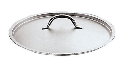 "World Cuisine 11161-60 Loop Handle Lid, 23 5/8"", Stainless"