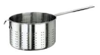 World Cuisine 11924-28 Pasta Strainer w/ Long Handle, 9-7/8-qt, Stainless