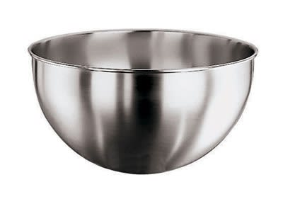 World Cuisine 11951-32 10 qt Round Bottom Mixing Bowl, Stainless