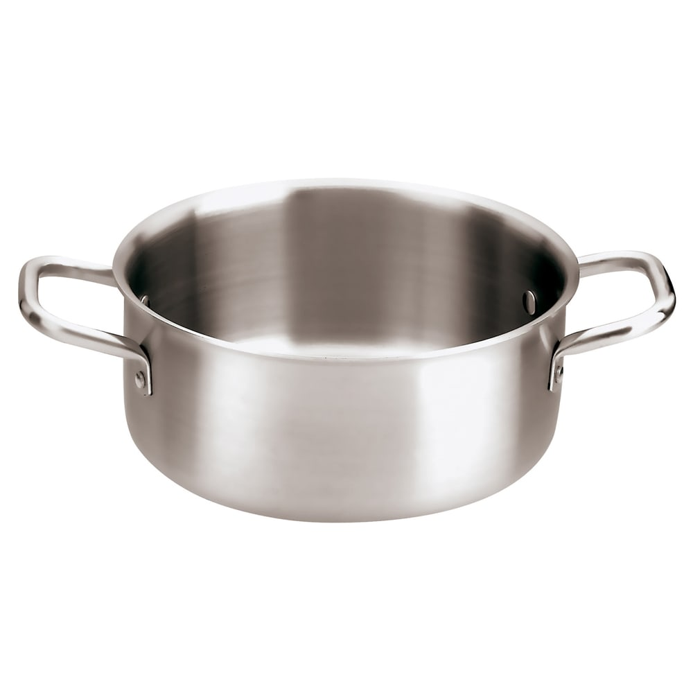 "World Cuisine 12509-28 7 qt Stainless Sauce Pot - 11"" x 4.375"""