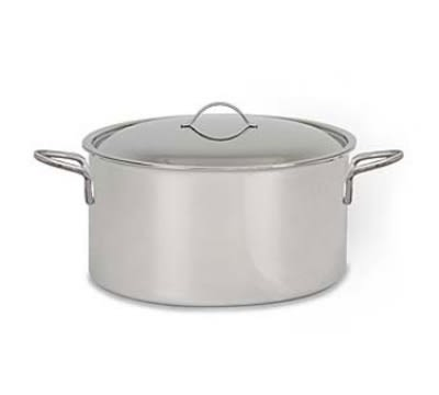 "World Cuisine 12509-28 7-qt Stainless Sauce Pot - 11"" x 4.375"""