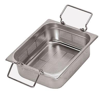 World Cuisine 14252-15 Full-Sized Steam Pan, Stainless