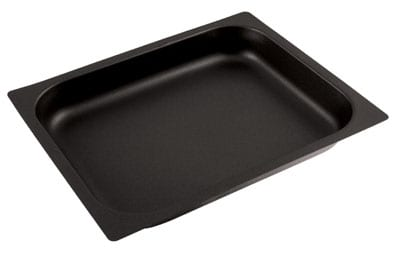World Cuisine 14362-06 Hotel Baking Sheet, 1/1 Size, 2.5 in Deep, Non-Stick, Stainless