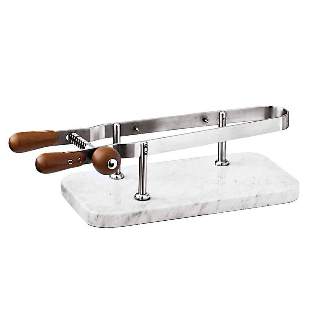World Cuisine 41583-00 Ham Holder w/ Marble Base, 17.75 x 9.5""