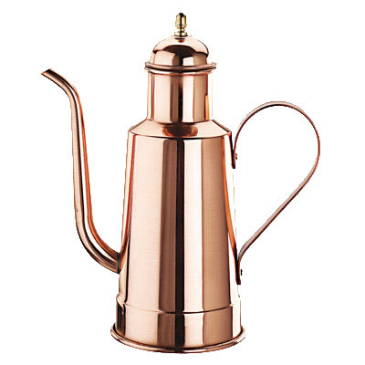 World Cuisine 41781-05 Oil Dispenser w/ Handle, 1/2-qt, Copper