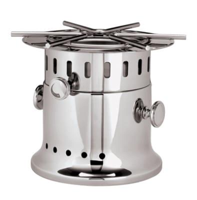 World Cuisine 56162-00 11-in Flambe Burner, Stainless Steel