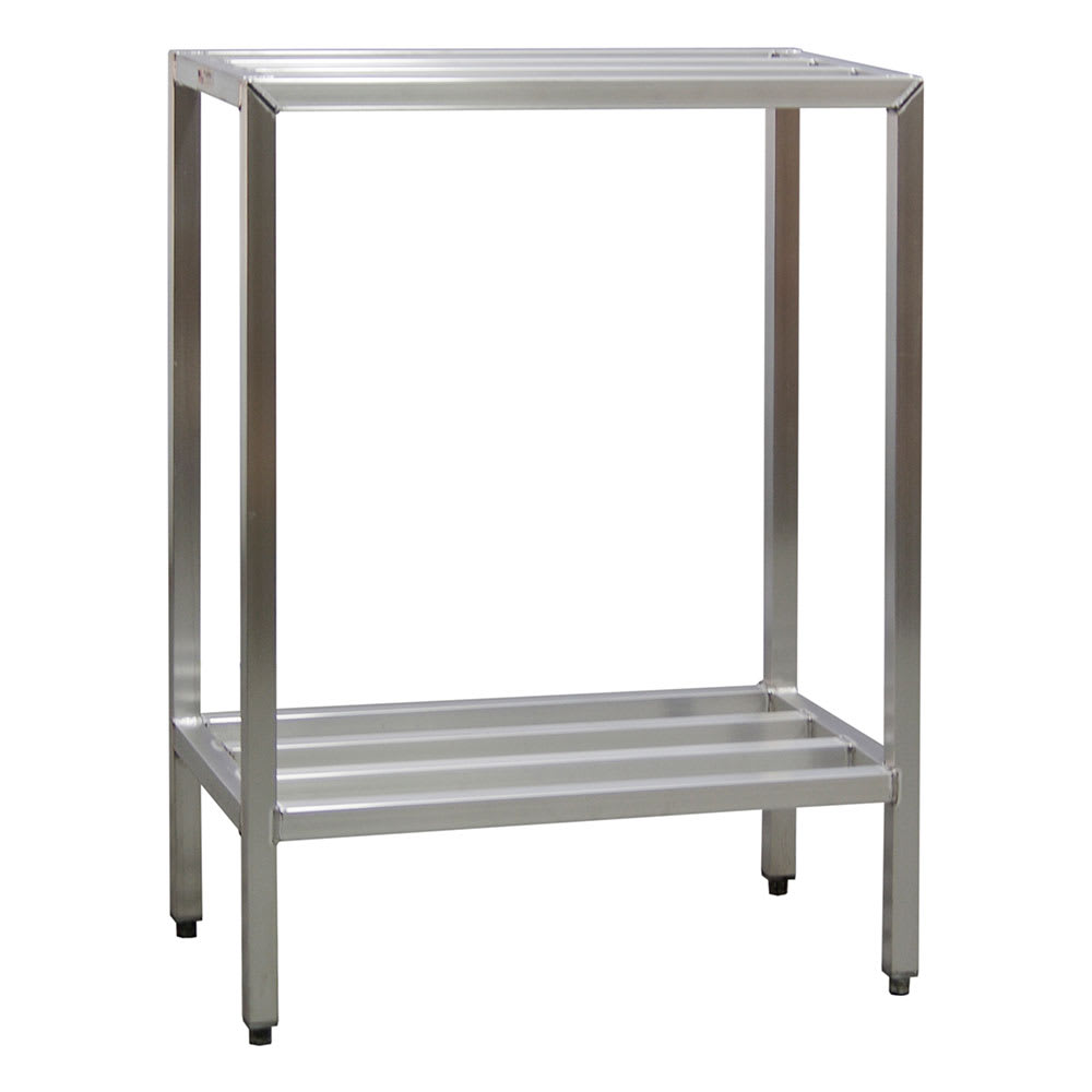 "New Age 1021 36"" Heavy-duty Shelving Unit w/ 1500-lb Capacity, Aluminum"