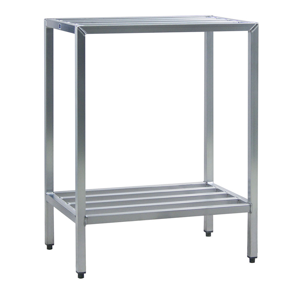 "New Age 1025 36"" Heavy-duty Shelving Unit w/ 1500 lb Capacity, Aluminum"