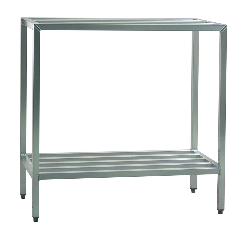 "New Age 1026 48"" Heavy-duty Shelving Unit w/ 1500-lb Capacity, Aluminum"