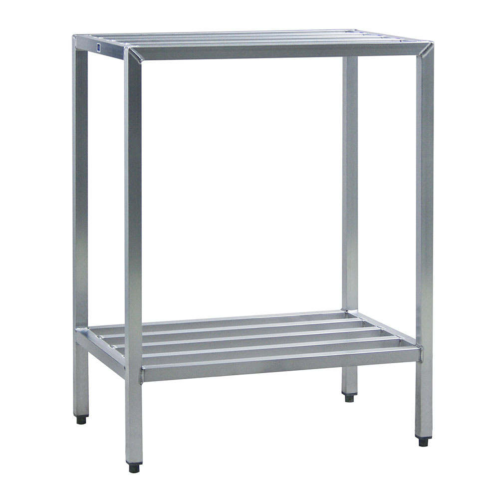 "New Age 1028 72"" Heavy-duty Shelving Unit w/ 1500 lb Capacity, Aluminum"