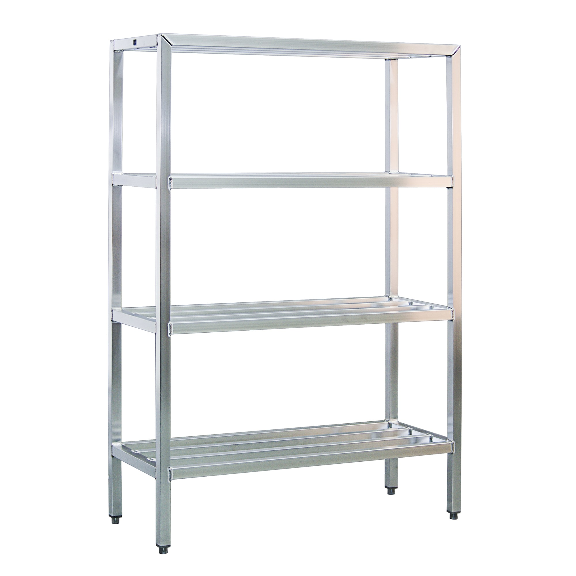"New Age 1062 48"" Heavy-duty Shelving Unit w/ 1500-lb Capacity, Aluminum"