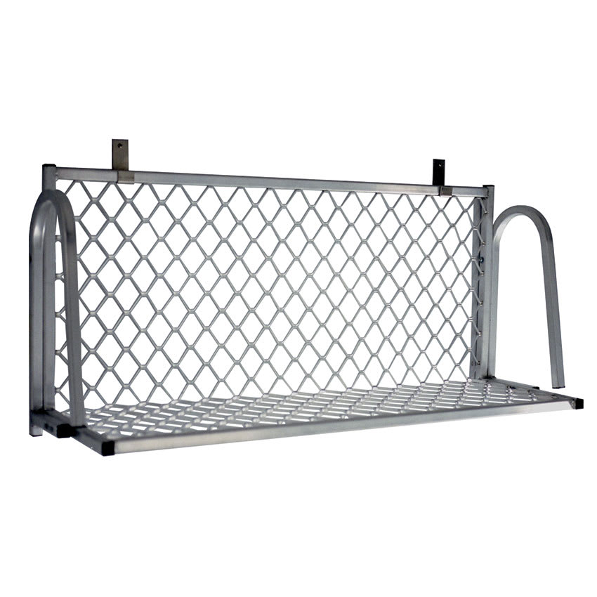 "New Age 120W Boat Rack Wall Mounted Shelf, 36""W x 15""D, Aluminum"