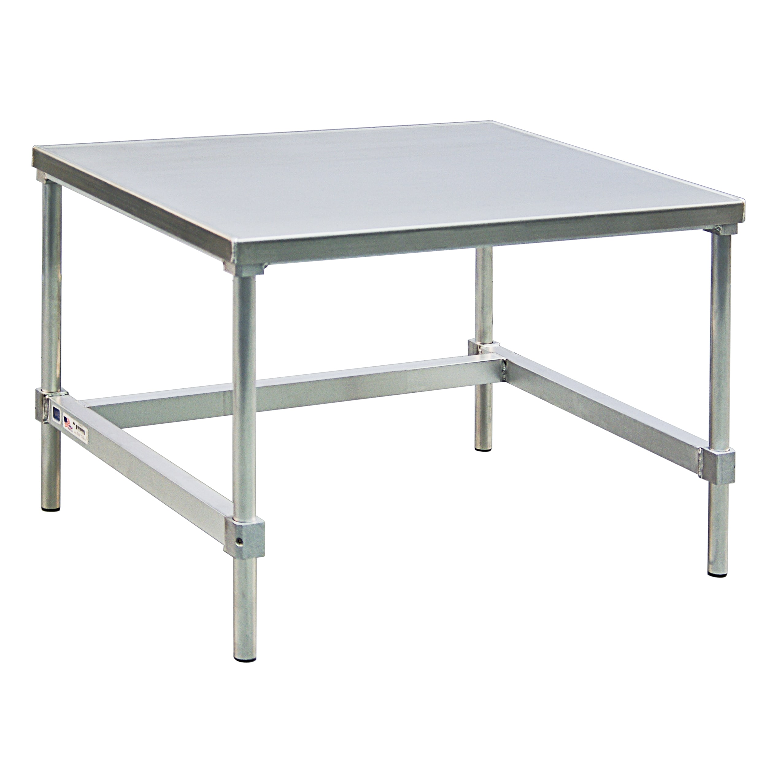 "New Age 12436GS 36"" x 24"" Stationary Equipment Stand for General Use, Open Base"