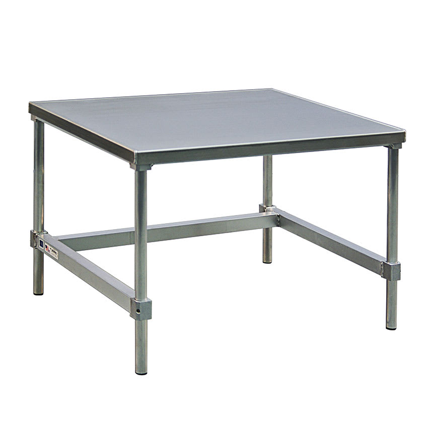 """New Age 12472GS 72"""" x 24"""" Stationary Equipment Stand for General Use, Open Base"""