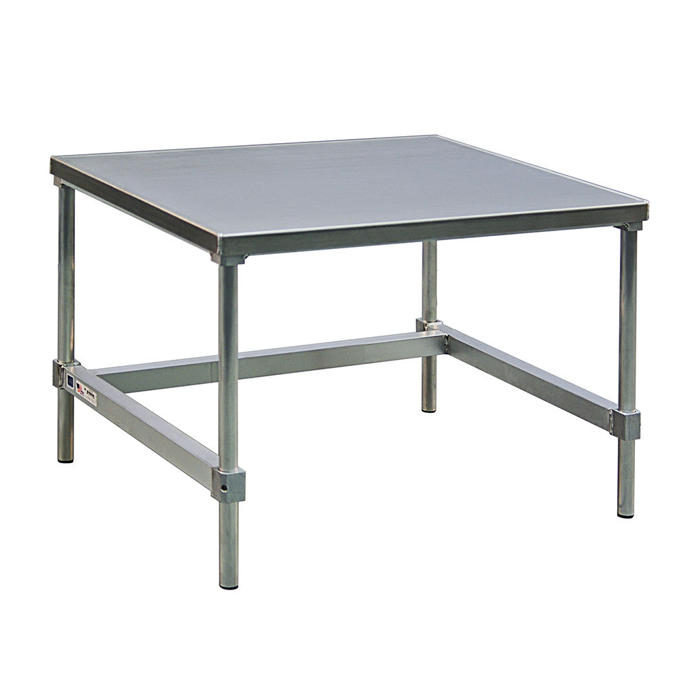 "New Age 13048GS 48"" x 30"" Stationary Equipment Stand for General Use, Open Base"