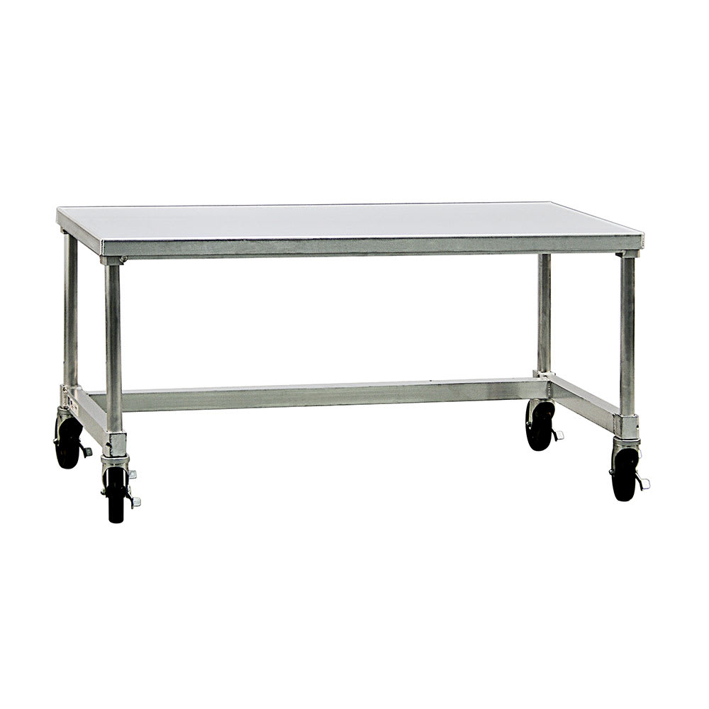 "New Age 13048GSCU 48"" x 30""Mobile Equipment Stand for General Use, Undershelf"