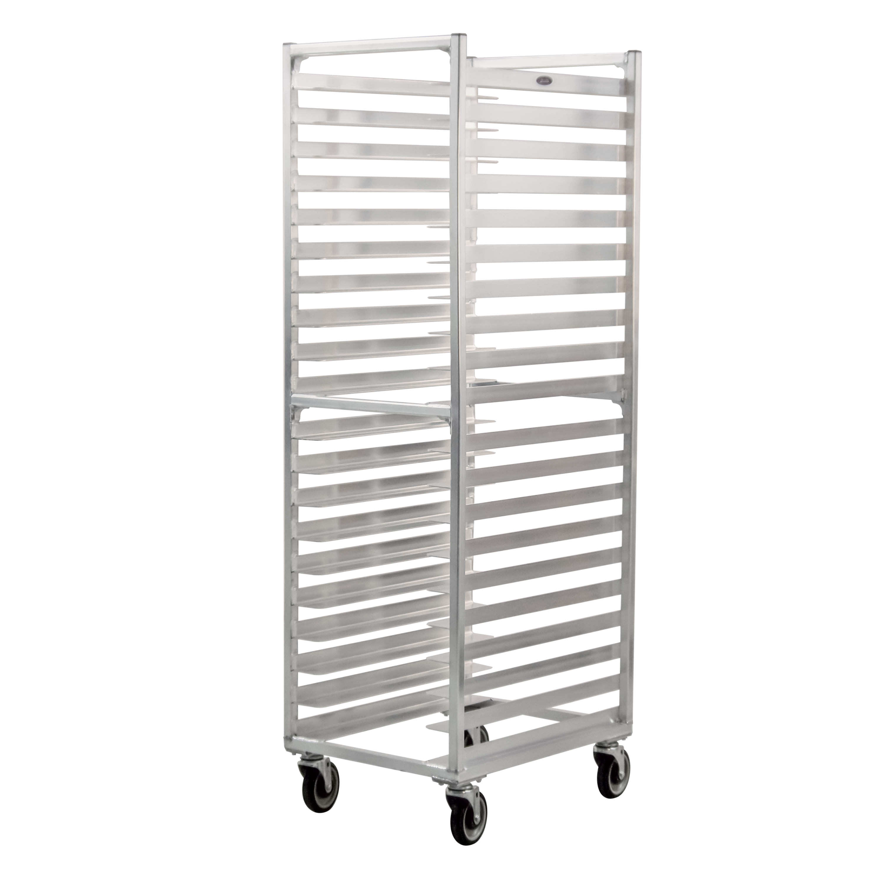 "New Age 1306 20.38""W 20 Sheet Pan Rack w/ 3"" Bottom Load Slides"
