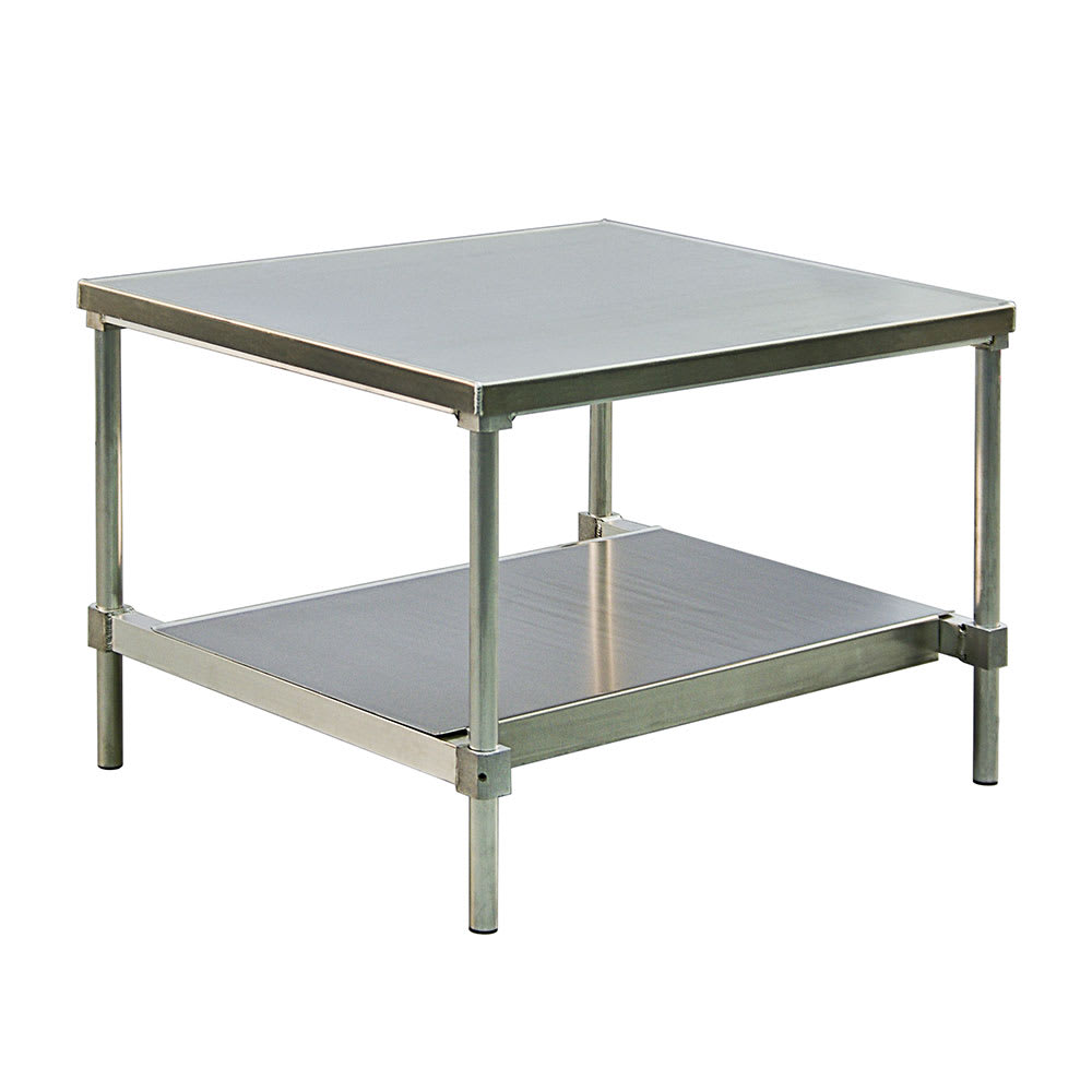 "New Age 13072GSU 72"" x 30"" Stationary Equipment Stand for General Use, Undershelf"