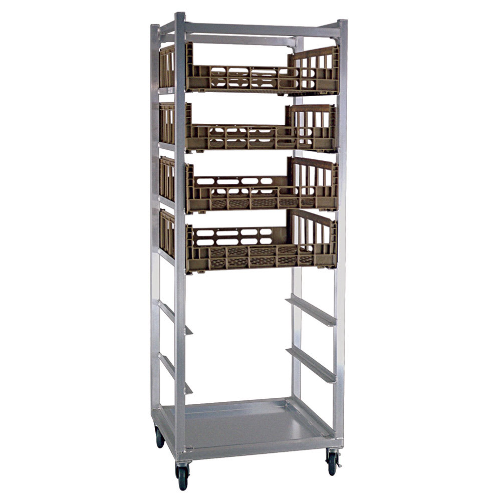 "New Age 1315 26""W 8-Produce Crisper Rack w/ 10.5"" Bottom Load Slides"