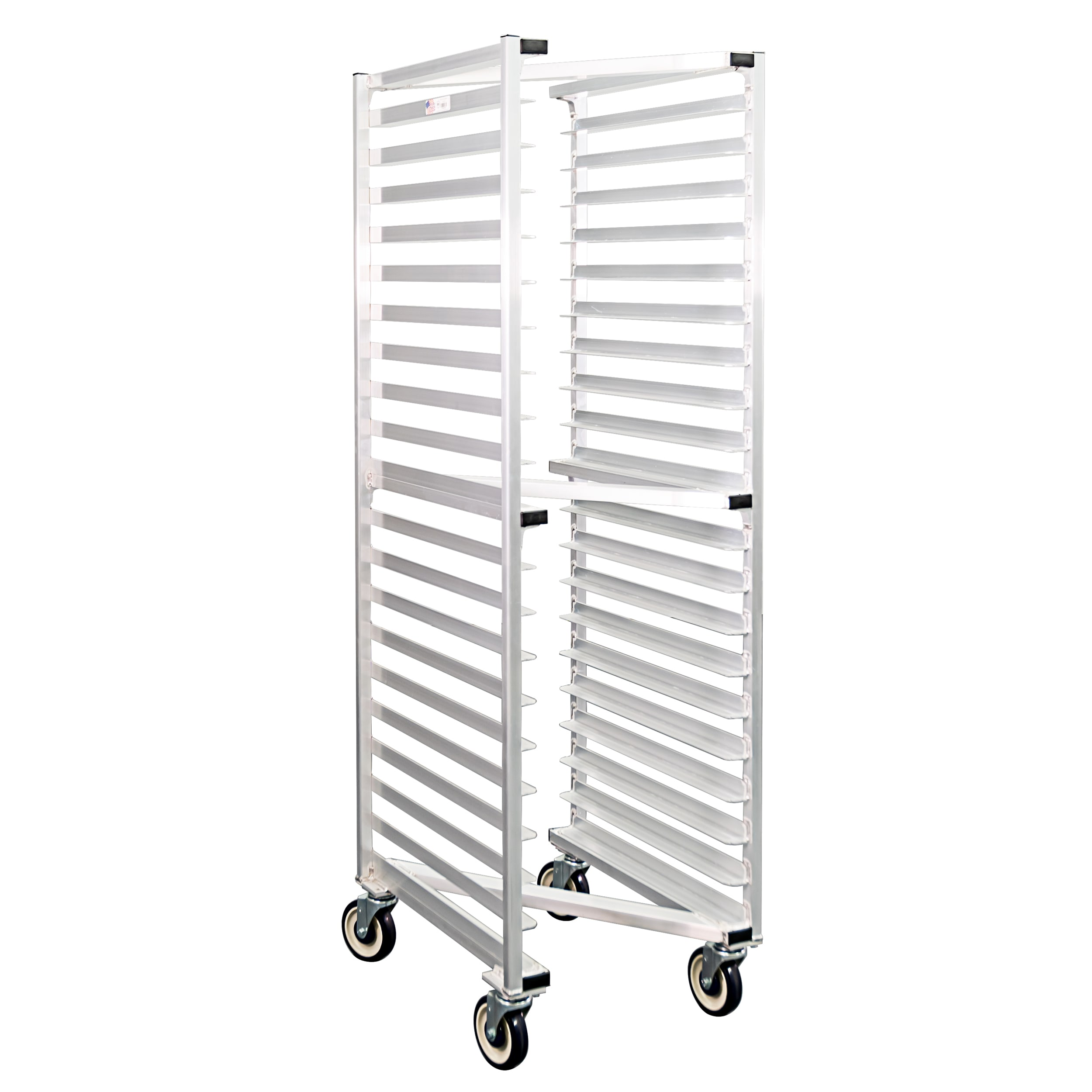 "New Age 1331Z 20.38""W 20-Sheet Pan Rack w/ 3"" Bottom Load Slides"