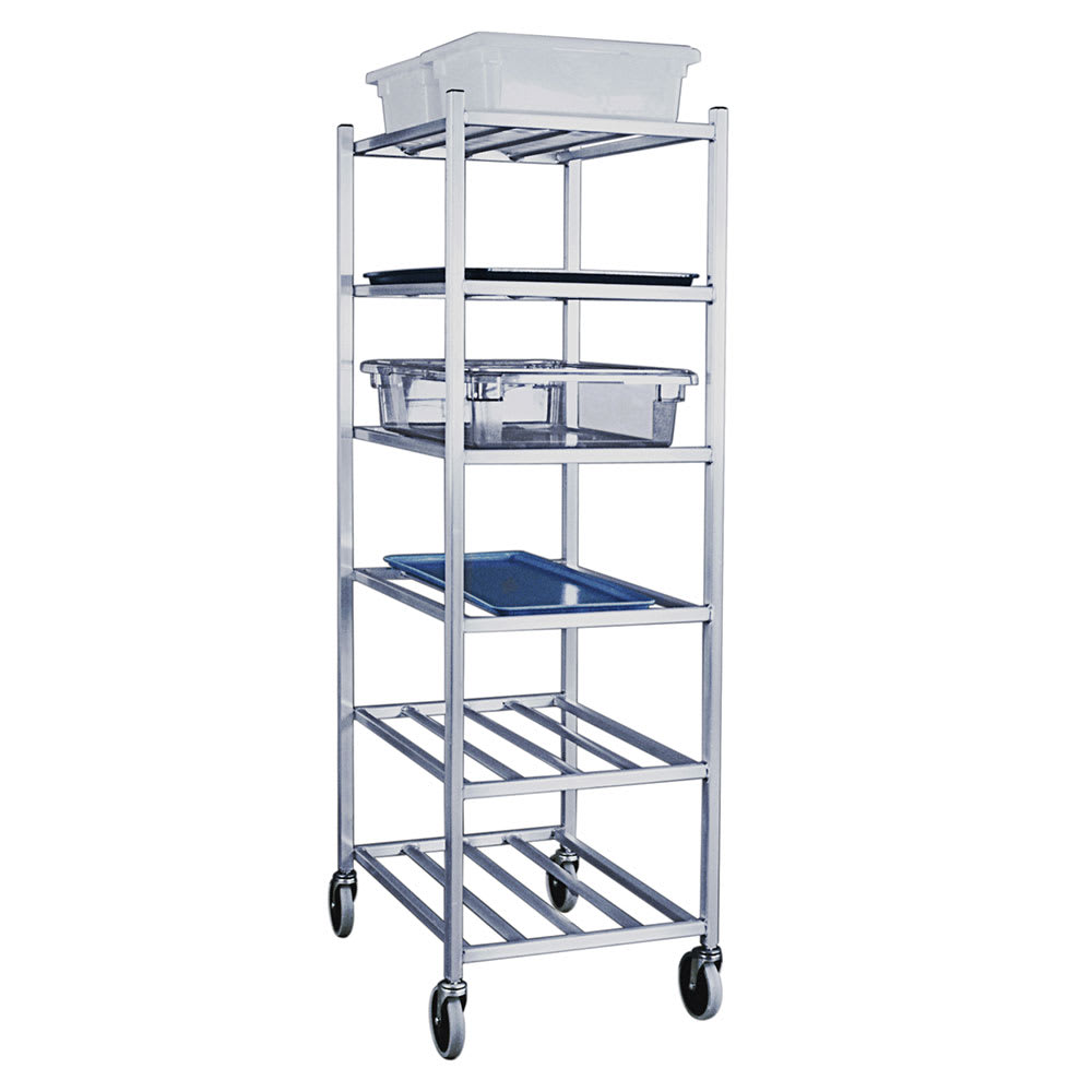 "New Age 1356M 27""W 6-Specialty Pan Rack w/ 10.5"" Bottom Load Slides"