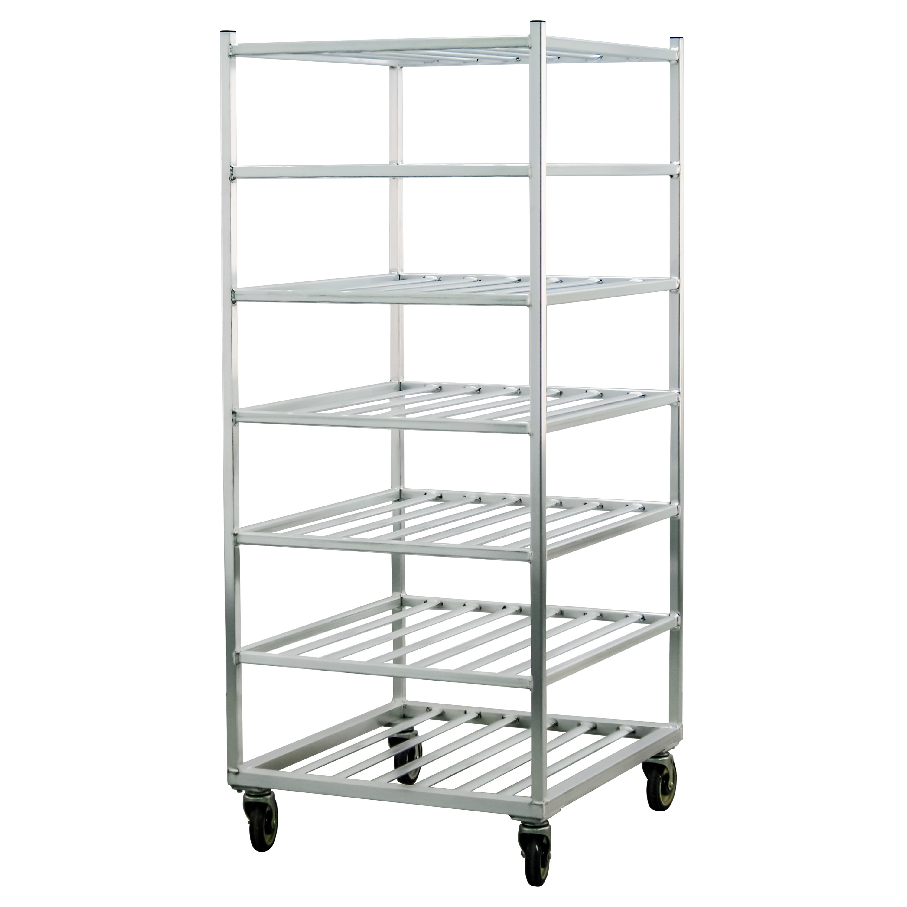 "New Age 1357 28.5""W 7-Specialty Pan Rack w/ 9"" Bottom Load Slides"