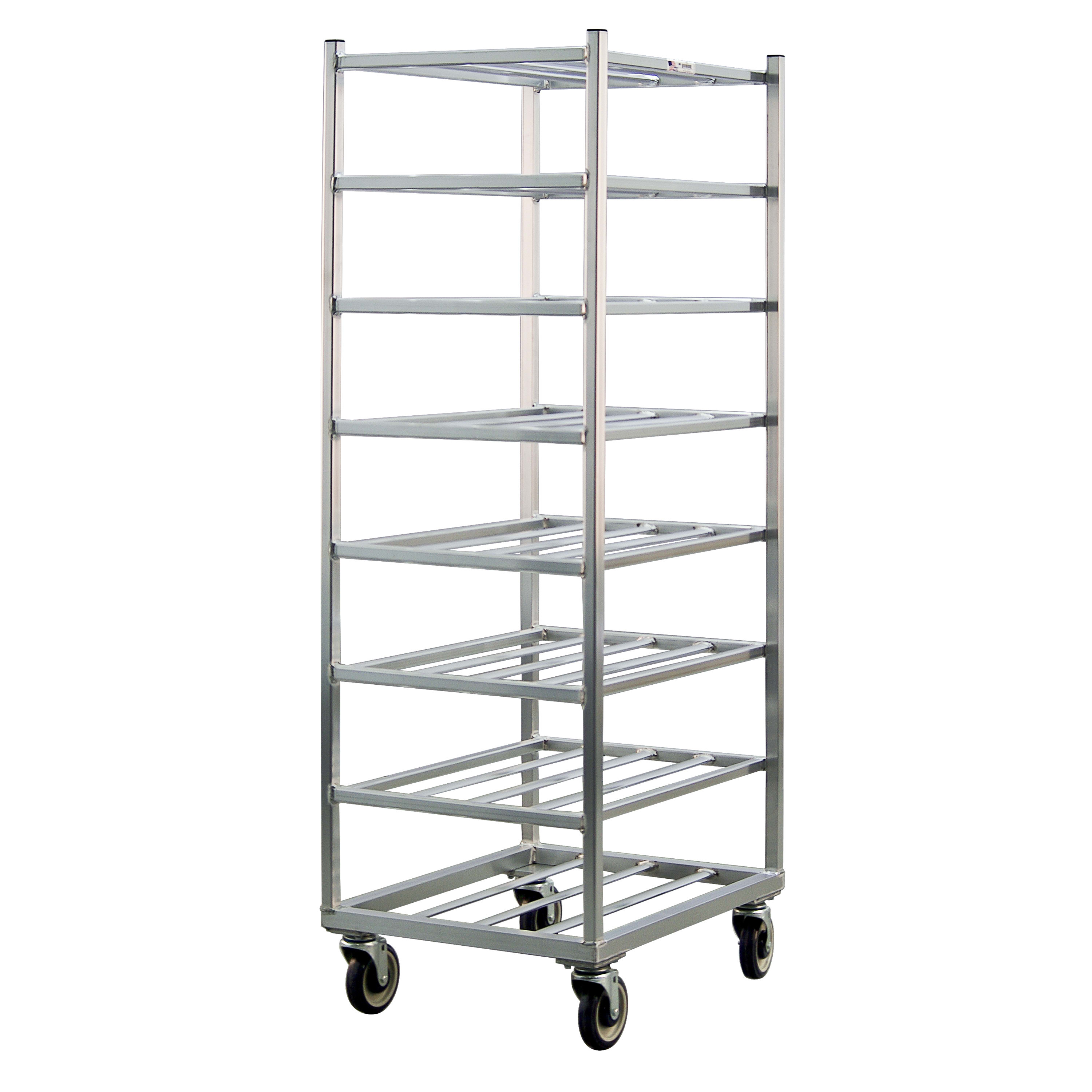 "New Age 1358 20.88""W 8 Specialty Pan Rack w/ 7.25"" Bottom Load Slides"