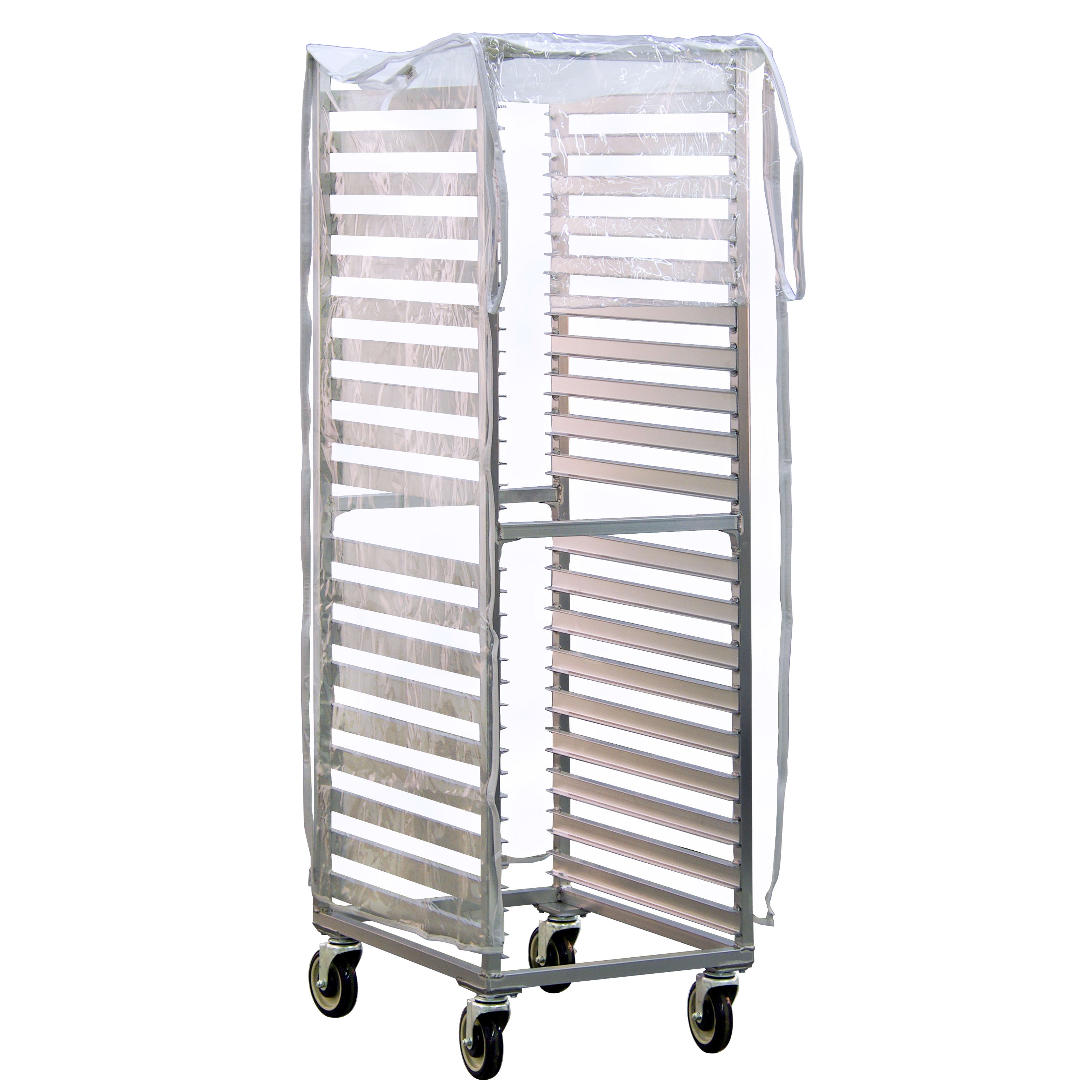 New Age 1359 End-Loading Rack Cover w/ 2 Zippers, Heavy Duty Vinyl