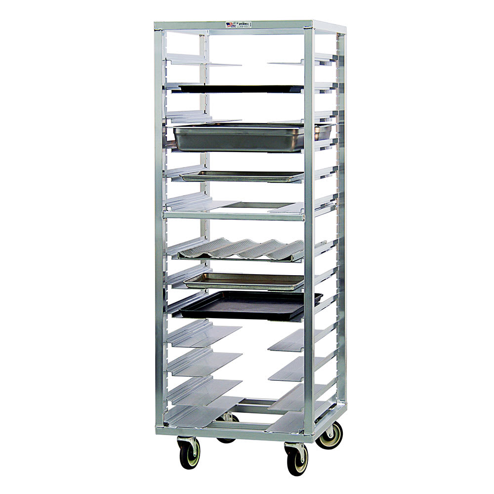 "New Age 1655 24.5""W 13-Sheet Pan Rack w/ 4.5"" Bottom Load Slides"